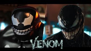VENOM   Official Trailer In LEGO   Side By Side Version