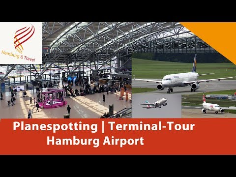 Planespotting und Terminal-Tour am Hamburg Airport | Bericht | Review | Hamburg and Travel