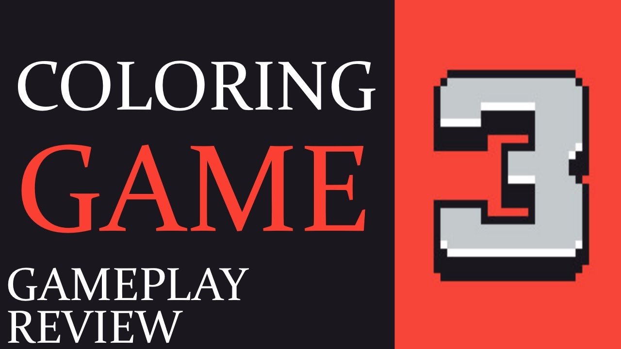 Coloring Game 3 New Free Game on Steam - Gameplay & Review ...