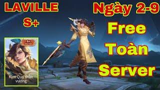 LIÊN QUÂN : Trang Phục Laville Kim Quy Thần Vương S+ Chính Thức Free Toàn Server