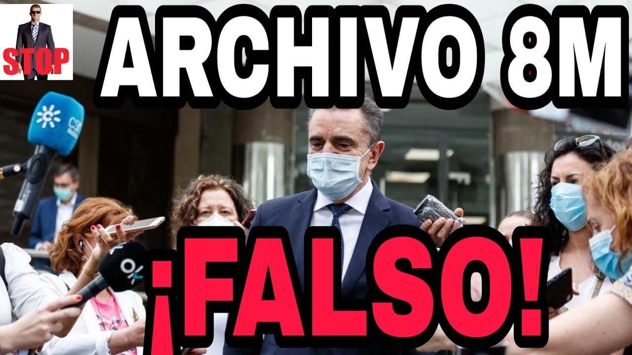 ¡URGENTE! ¡ES BULO LA NOTICIA DEL ARCHIVO DEL JUICIO DEL 8M PORQUE NO HAYA DELITO DEL GOBIERNO!