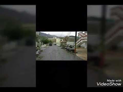 Adjuntas, Puerto Rico tras el paso del huracán Maria