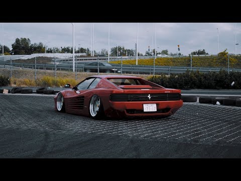 The Red Samurai | Ferrari Testarossa | 4K