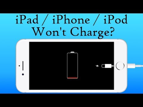 iPad Won't Charge   iPhone Won't Charge   iPod Won't Charge   Bad Apple Lightning Cable