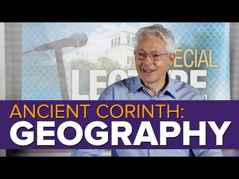 Ancient Corinth: Geography