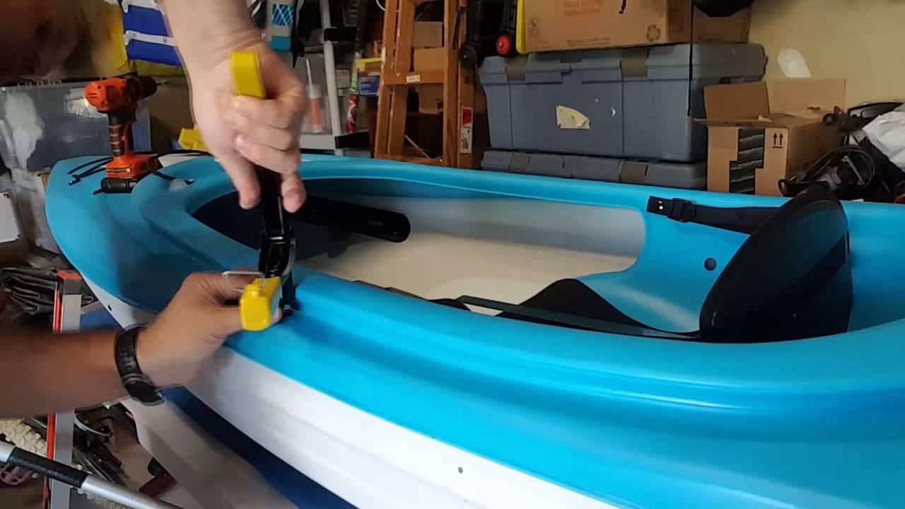 Pelican Trailblazer 100 Paddle Holder