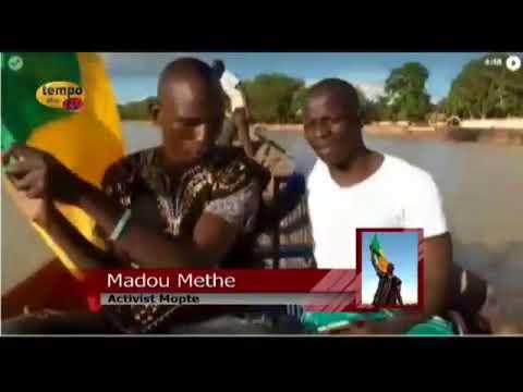 Tempo Afric TV - Le Commandant Methe décrie le désespoir des mopticiens au Mali