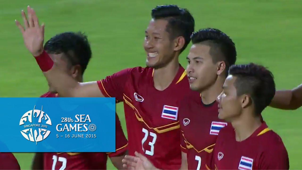 Video: U23 Lào vs U23 Thái Lan
