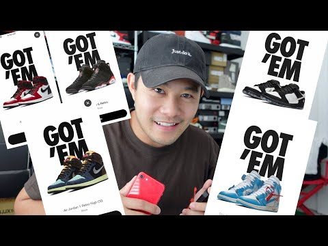 How To Always Cop On Nike Snkrs App And Buy Multiple Pairs Of Nikes & Jordans Everytime