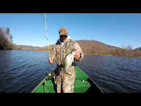 How To Catch Crappie - Crappie Fishing On Lake Guntersville