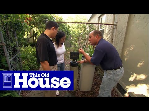 How to Repair a Water Softener - This Old House