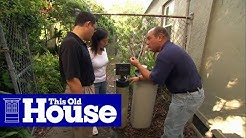 How to Repair a Water Softener | This Old House