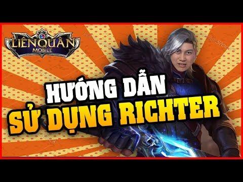 """""""Thánh Nhọ"""" Msuong  hướng dẫn sử dụng Richter đấu sĩ mạnh nhất Liên Quân !!!!!!"""