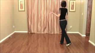 Old School Bop - Line Dance Demo and Teach