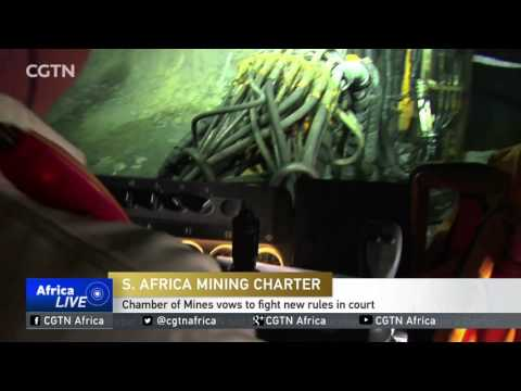 South Africa chamber of Mines vows to fight new rules in court