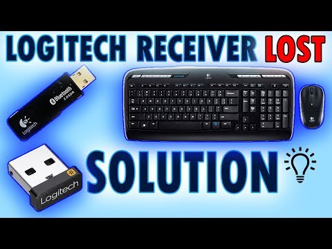 logitech wireless keyboard usb receiver replacement