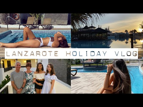 LANZAROTE HOLIDAY VLOG 🌴✈️☀️ | Katherine Isabelle