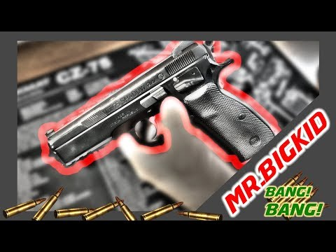 How to Disassemble and Clean the CZ 75 SP 01 Shadow