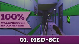 System Shock 2 Walkthrough (Impossible, All Collectibles) part 1 MED-SCI