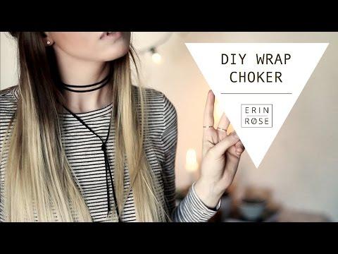 DIY Wrap Choker   Erin Rose