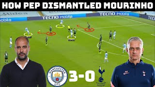 Tactical Analysis: Man City 3-0 Tottenham | How Pep Outclassed Mourinho |