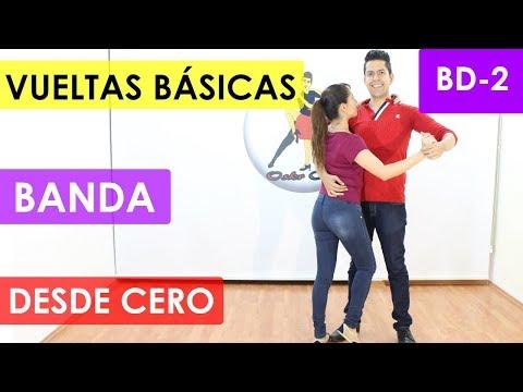 COMO BAILAR BANDA - VUELTAS BÁSICAS