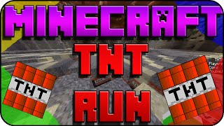 EN EL PODIO !!!   TNT RUN   MINECRAFT
