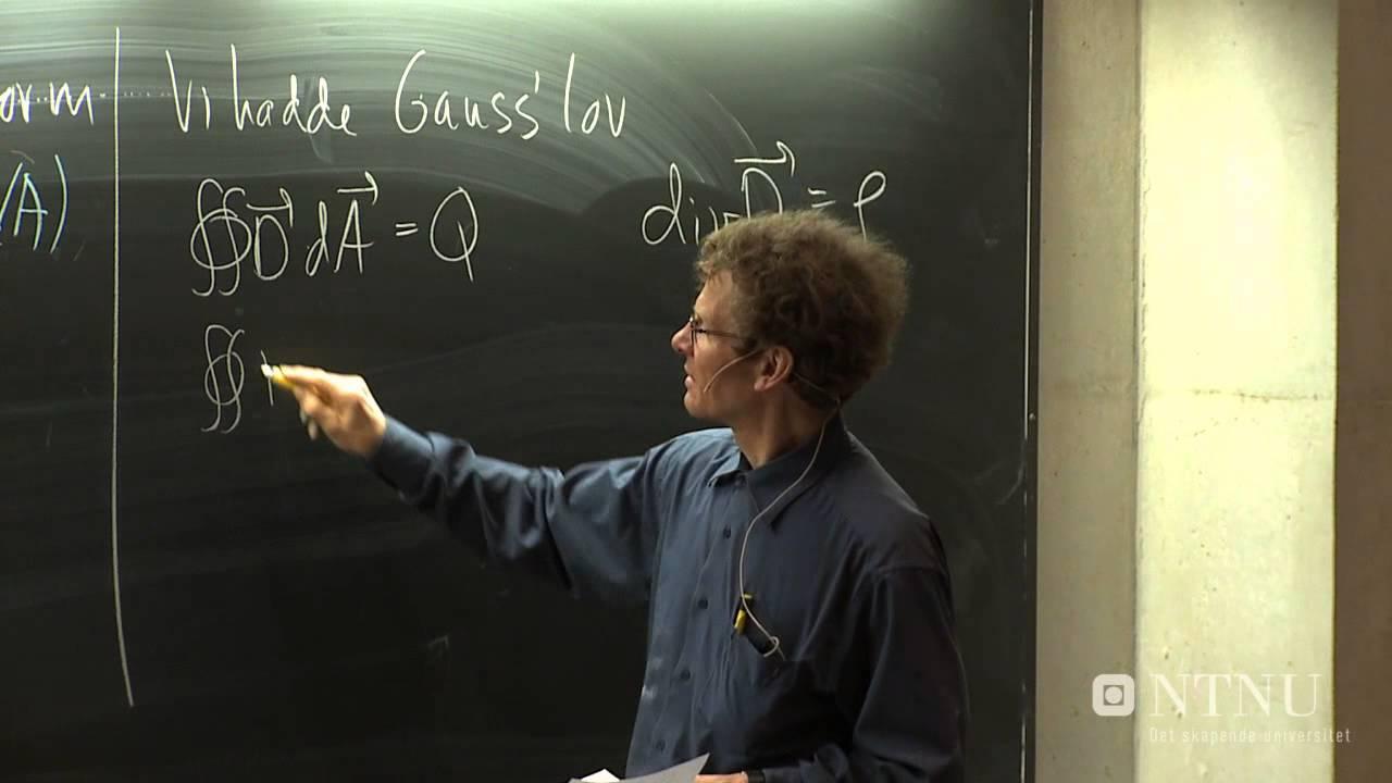 X11. Stokes teorem, Maxwells likninger