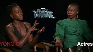 AAFCA Report Black Panther Lupita & Danai