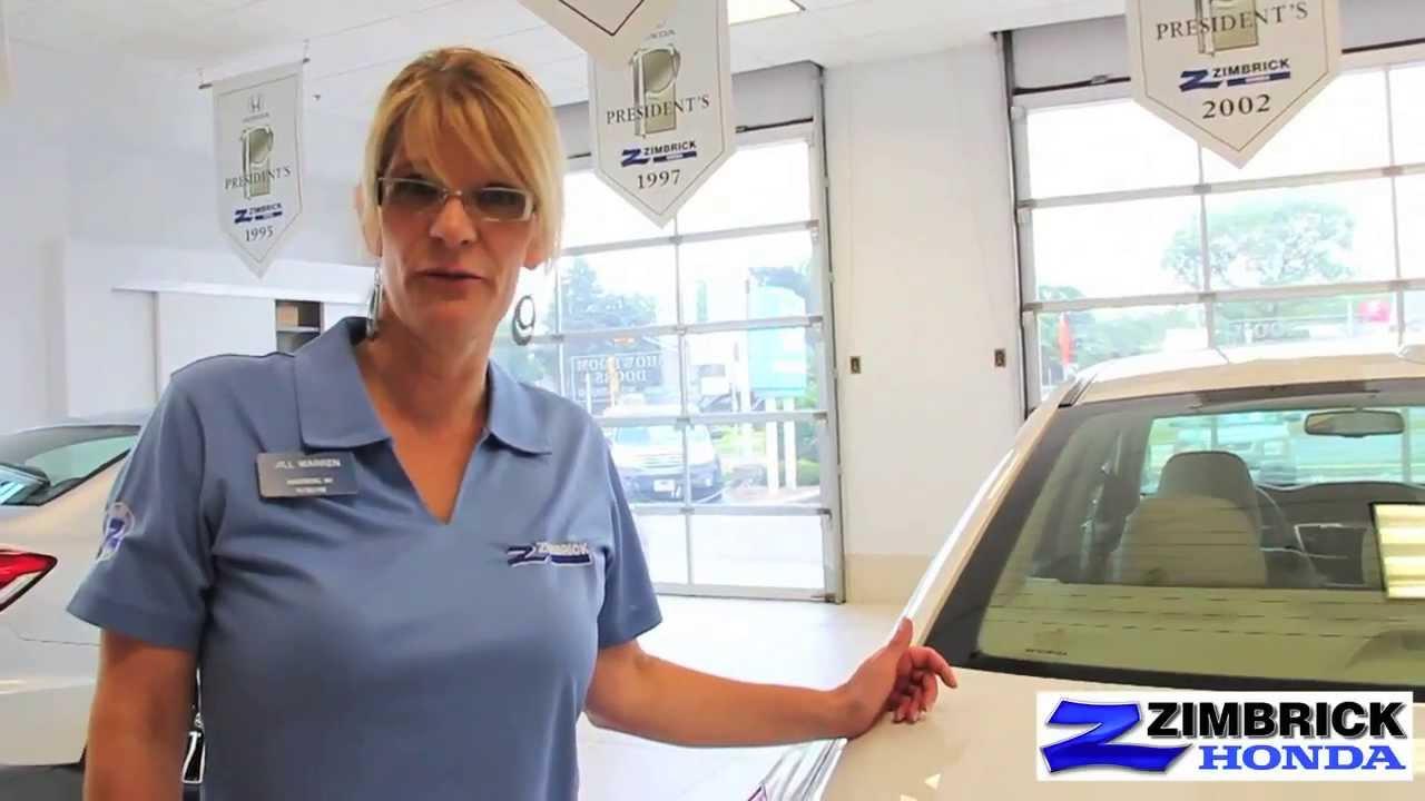 2013 Honda Accord Vehicle Presentation By Jill At Madison WI Honda Dealer Zimbrick  Honda