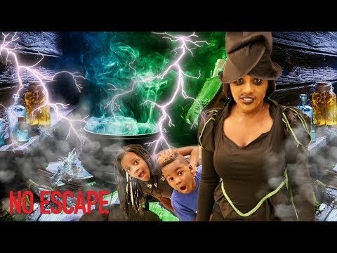 Try To Escape The Mean Babysitter...Mean Babysitter Escape Room..