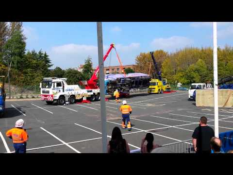 Recovery demonstration at the tow show 2014