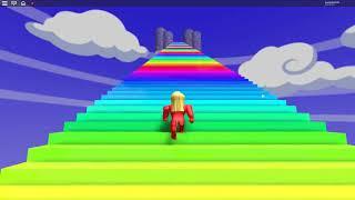 rainbow slide roblox dansk