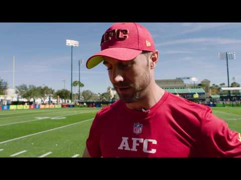 Alex Smith Wired at the Pro Bowl
