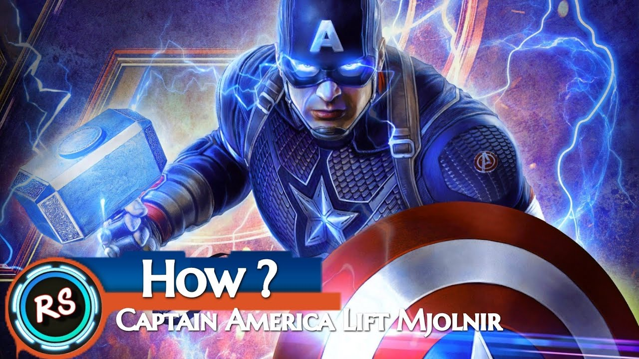 captain america thor hammer