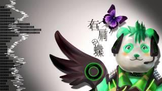 自作のUTAU音源「悠遊」で、 のりP様の「右肩の蝶 レンver」をカバーさ...