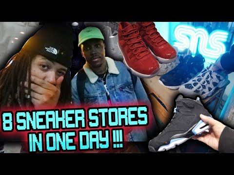 WE WENT TO 8 SNEAKER SHOPS IN ONE DAY !!! PARIS THE SNEAKER CAPITAL OF EUROPE ?!?!?