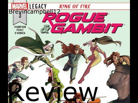 Rogue and Gambit #3 Review- Facing your past