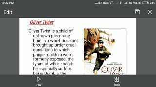Summary of Oliver Twist in hindi