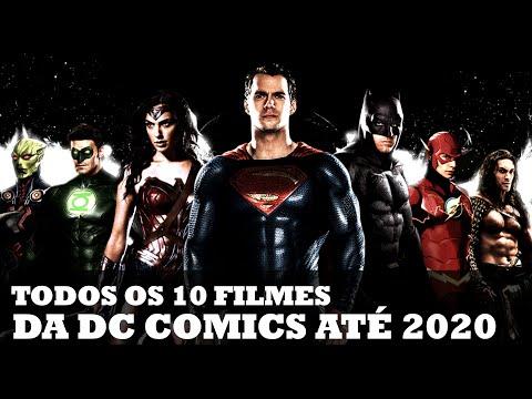 TODOS OS 10 FILMES DA DC COMICS ATÉ 2020!   Nerd News #14