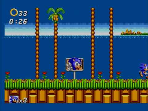 Sonic 2 LD - Emerald Hill Zone Act 1 in 0:26