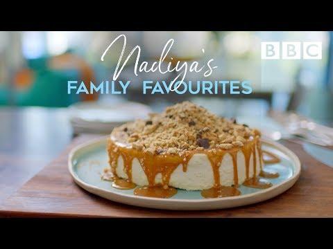 Back-to-Front Cheesecake | Nadiya's Family Favourites - BBC