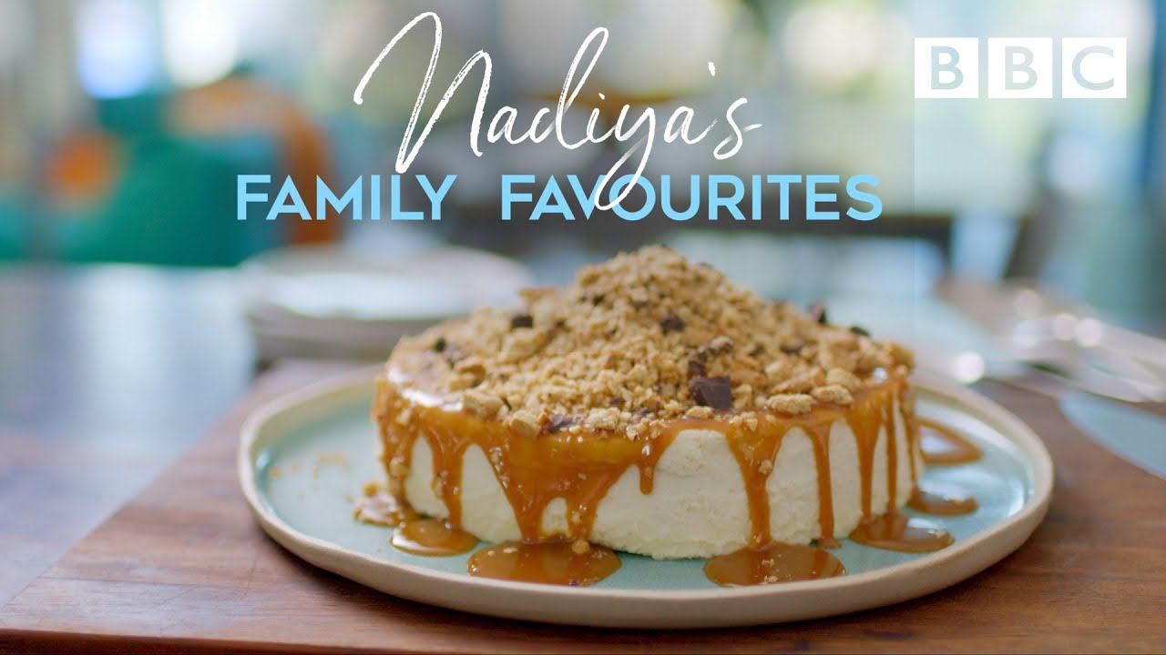 Back-to-Front Cheesecake | Nadiya's Family Favourites - BBC