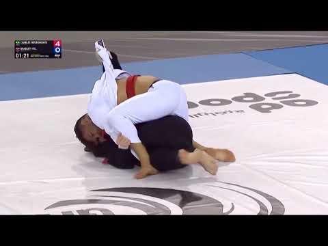 Charles Negromonte VS Bradley Hill 85KG (Abu Dhabi Grand Slam 2020)