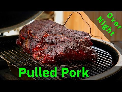 How to BBQ Pork Butt in a Ceramic Grill  Primo Oval XL 400