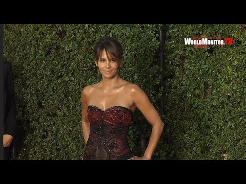 Halle Berry arrives at 49th NAACP Image Awards