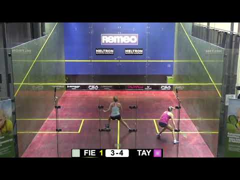 Remeo Ladies Open 2018: Olivia Fiechter USA - Lily Taylor ENG