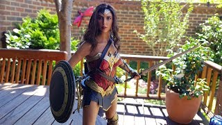TRUE LIGHT REVIEW WONDER WOMAN BY HOT TOYS