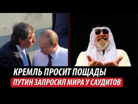 Кремль просит пощады. Путин запросил мира у саудитов