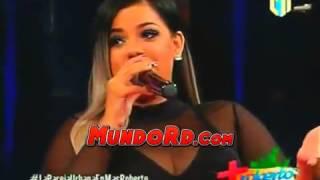 Entrevista caliente a Toxic crow y la insuperable en el programa Mas Roberto Canal 11